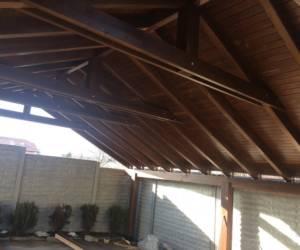 Дървени гаражи